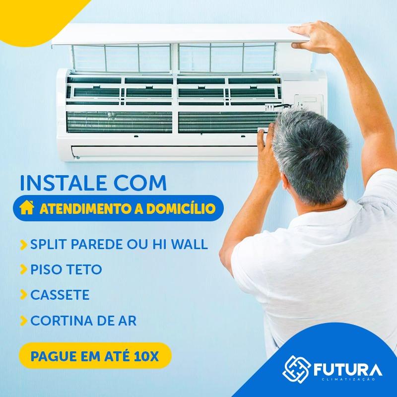 Instalação Ar Condicionado HW 20.000 a 25.000 BTUs