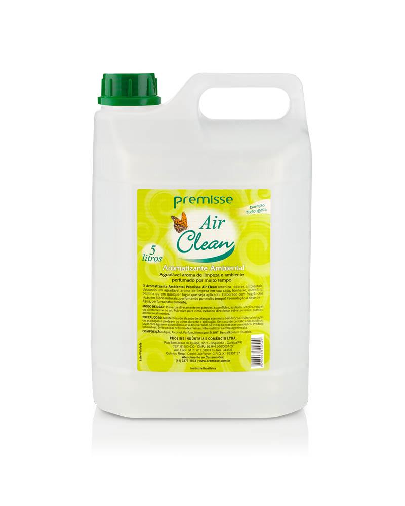 AROMATIZANTE AMBIENTAL AIR CLEAN 5LT - PREMISSE